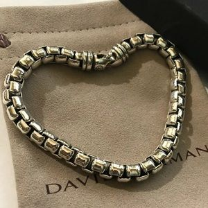 David Yurman Extra Large box chain bracelet 7mm